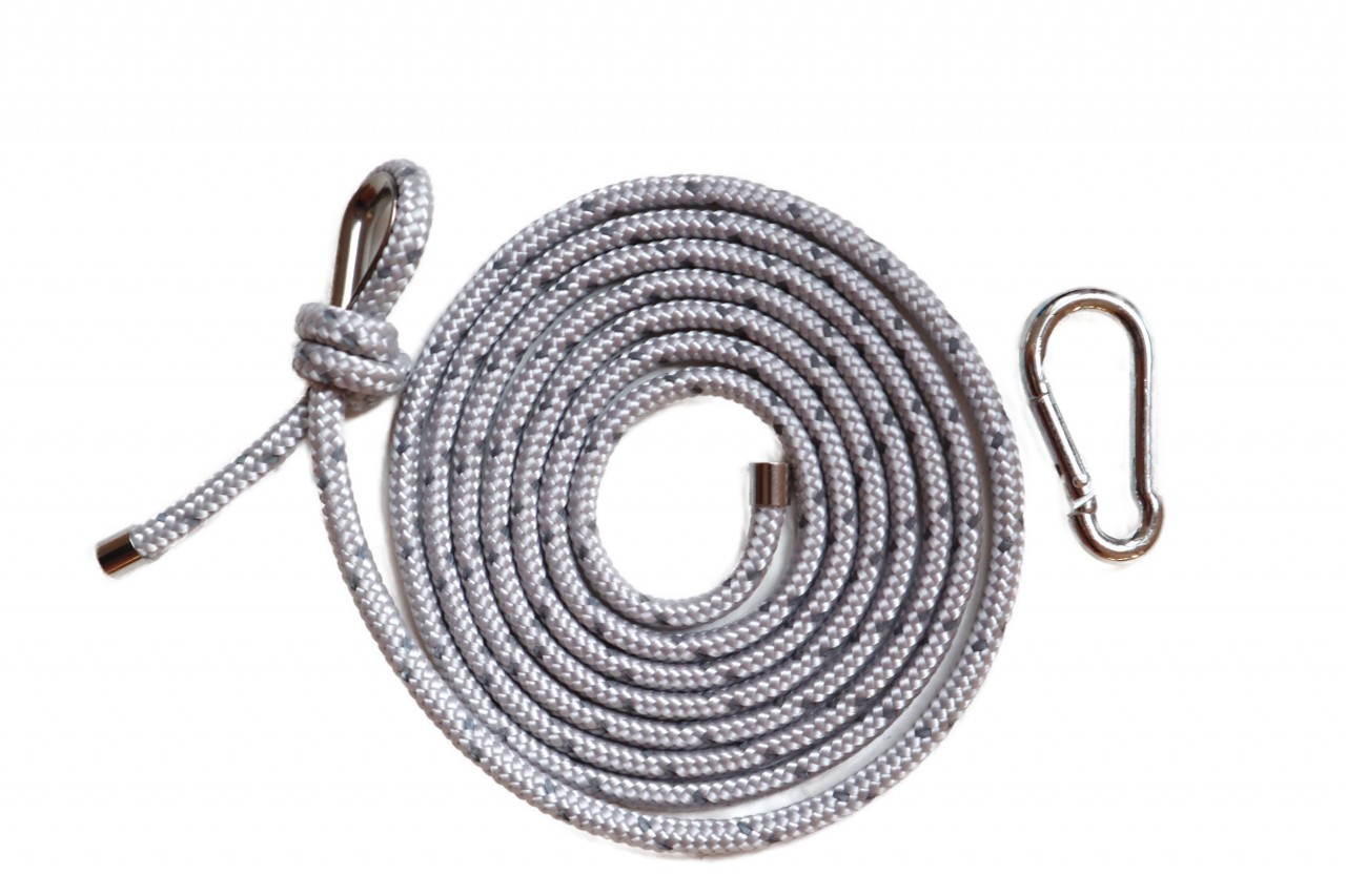 SILVER REFLECTIVE ROPE