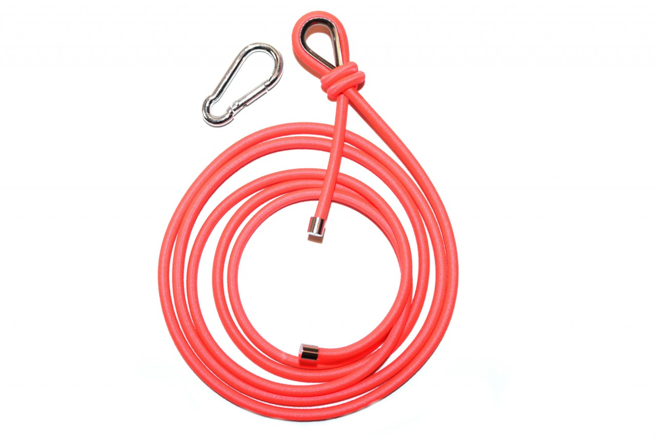FLEXIBLE BRIGHT CORAL ROPE