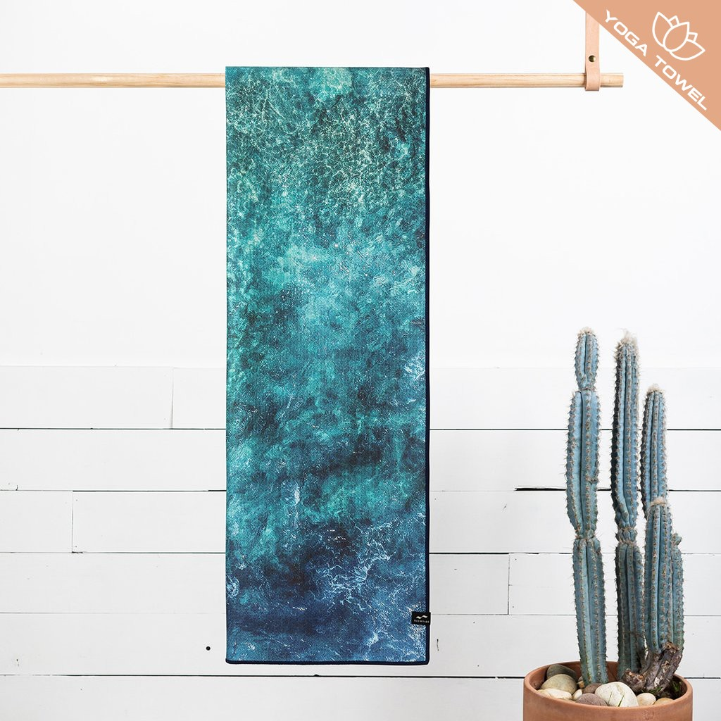 Serenity Yoga Towel- 100% recycled materials