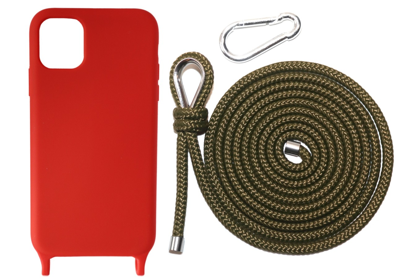 Lei Case Red Case X Military Green