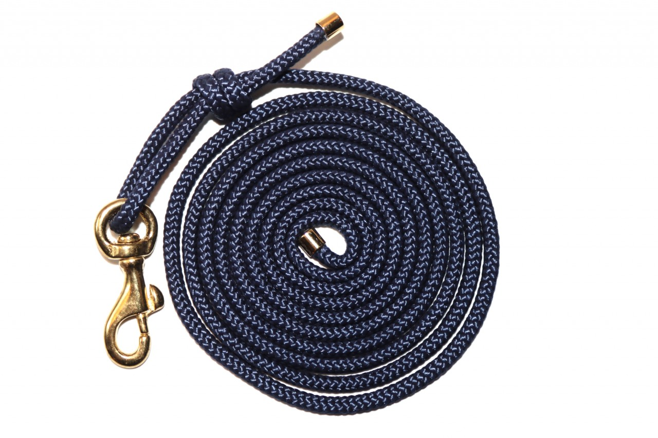 CLASSY BLUE GOLD ROPE