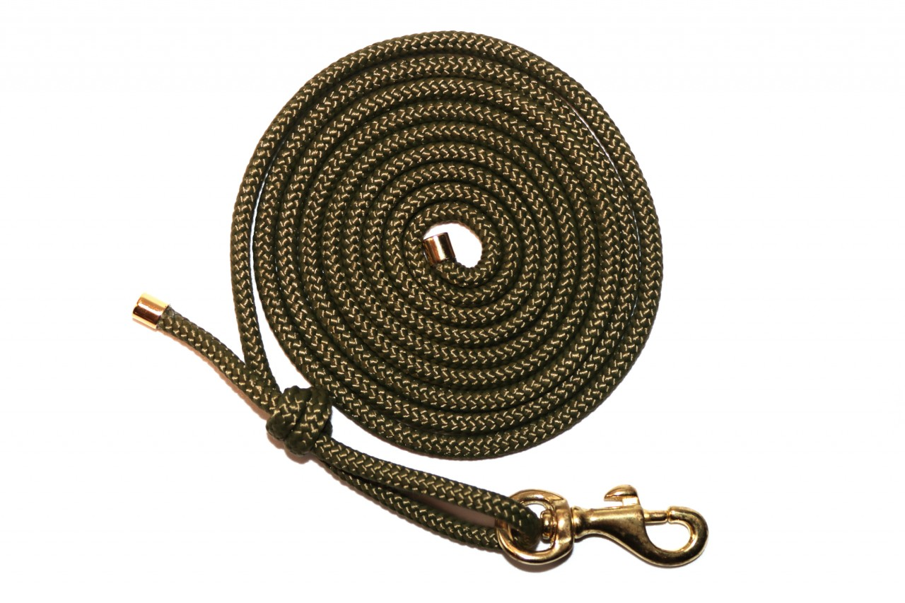 CLASSY GREEN GOLD ROPE
