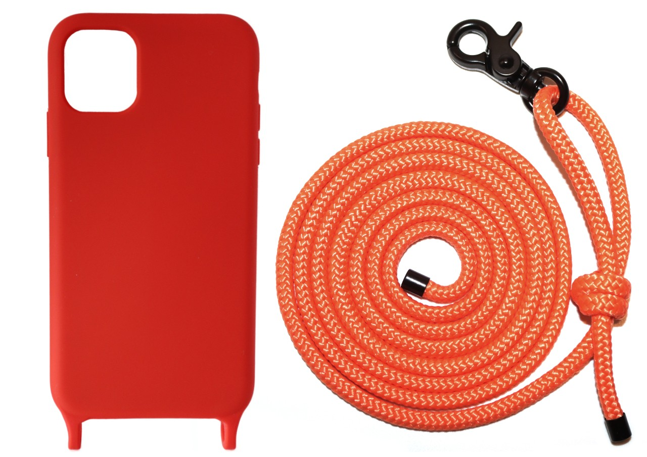 Lei Case Red Case X Neon Orange Premium